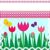 Spring card Royalty Free Stock Photos