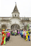 Spring carnaval in Russia Royalty Free Stock Photography