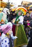 Spring carnival in Russia Royalty Free Stock Image