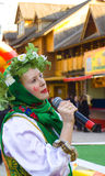 Spring carnival in Russia Royalty Free Stock Photography