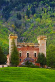 Spring Castel Royalty Free Stock Images