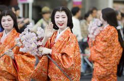 Free Spring Celbration At Nagoya Festival, Japan Royalty Free Stock Photo - 200722385