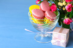 Spring celebration composition on the theme of Women's Day Royalty Free Stock Photos