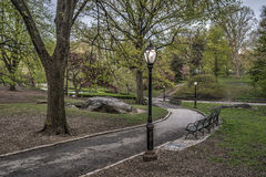 Spring in Central Park, New York City Royalty Free Stock Photo