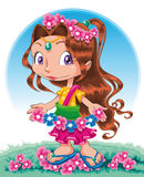 Spring character Stock Images