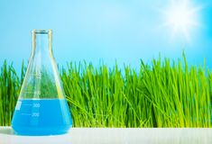 Spring chemistry Royalty Free Stock Image