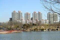 Spring city Stock Image