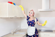 Spring cleaning Royalty Free Stock Image