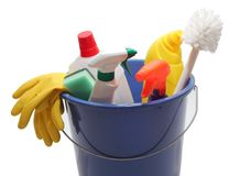 Spring-cleaning Royalty Free Stock Photo