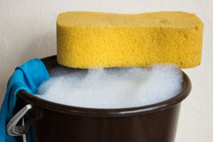 Spring cleaning Royalty Free Stock Images