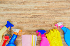 Spring cleaning concept Stock Photography