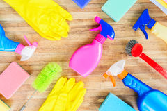 Spring cleaning concept Stock Images