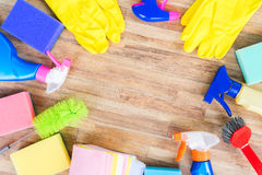 Spring cleaning concept Royalty Free Stock Image