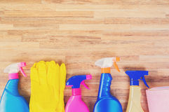 Spring cleaning concept Royalty Free Stock Images