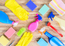 Spring cleaning concept Stock Photos