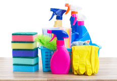 Spring cleaning concept Stock Image