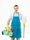 Spring cleaning Stock Image