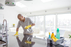 Spring Cleaning royalty free stock photo