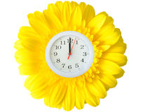 Spring Clock Royalty Free Stock Images