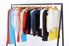 Spring clothes Royalty Free Stock Photo