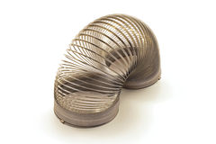 Spring Coil Toy Stock Image