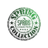Spring collection rubber stamp Stock Photos
