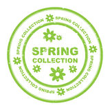 Spring collection seal Royalty Free Stock Photo