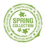Spring Collection Stamp Stock Images