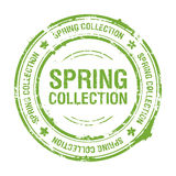 Spring collection stamp Stock Photography