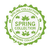 Spring collection stamp Stock Photos
