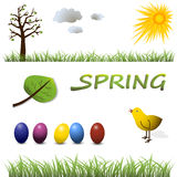 Spring collection Stock Image