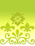 Spring color designs stock illustration