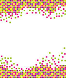 Spring colorful mosaic Royalty Free Stock Photo