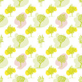 Spring colors tree design. Royalty Free Stock Images