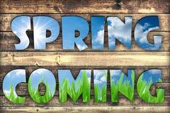 Free Spring Coming Royalty Free Stock Image - 51255296