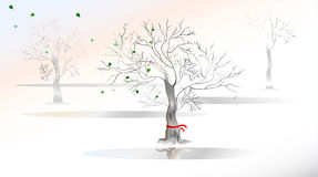 Spring is coming. royalty free illustration
