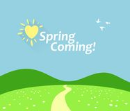 Spring Comming Stock Photos