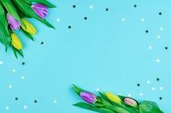 Spring composition Stock Photos