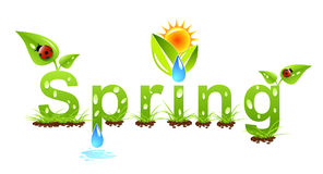 Spring concept Royalty Free Stock Photography