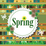 Spring concept Royalty Free Stock Photos
