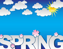 Spring concept background Royalty Free Stock Photography