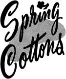 Spring Cottons Royalty Free Stock Photography
