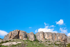 Spring Crimea landscape (Ukraine). Stock Photo