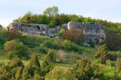 Spring Crimea landscape (Ukraine). Royalty Free Stock Photos