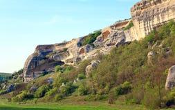 Spring Crimea landscape (Ukraine). Stock Photography