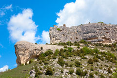 Spring Crimea landscape (Ukraine). Royalty Free Stock Photos