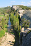 Spring Crimea Mountain landscape (Ukraine). Royalty Free Stock Images
