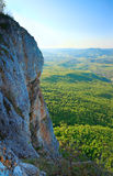 Spring Crimea Mountain rocky view Royalty Free Stock Image