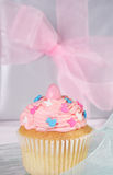 Spring cupcake Royalty Free Stock Photo