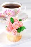 Spring cupcake Stock Photo